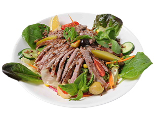 Rib Steak Salad