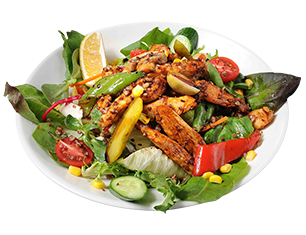 Salad with Soy Chicken