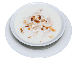 Chicken Soup with Almond